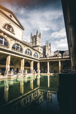 Description: Roman Baths, England